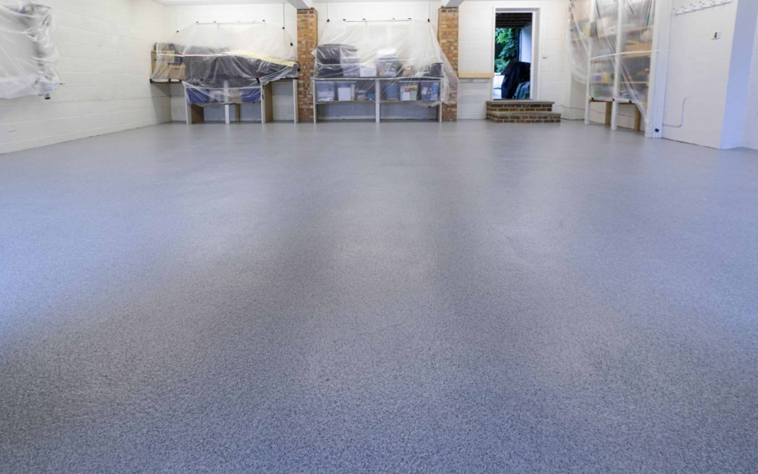 Is resin flooring a DIY job or do I need a garage floor company?